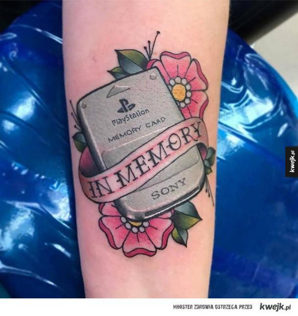 Ciekawa tatuaż