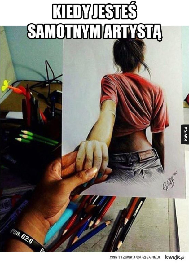 Samotny artysta