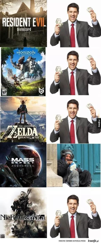 Tymczasem w świecie gier