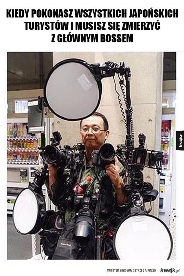 Główny boss Japończyków