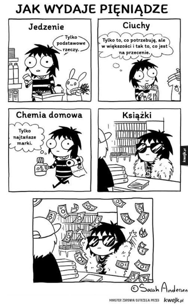 Jak wydaję pieniądze