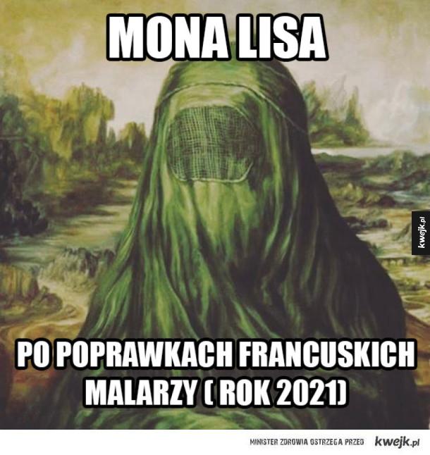 Mona Lisa po poprawkach