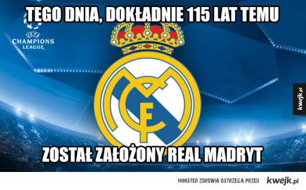 Real Madryt!