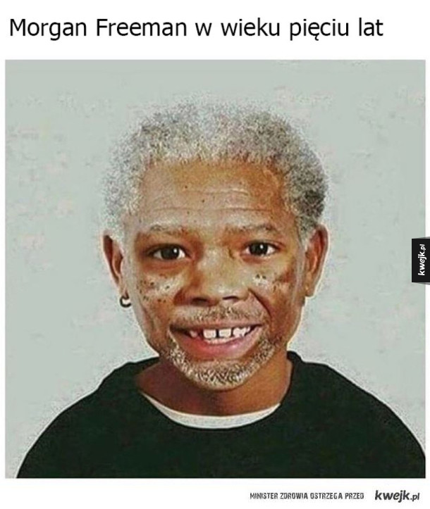 Młody Morgan Freeman