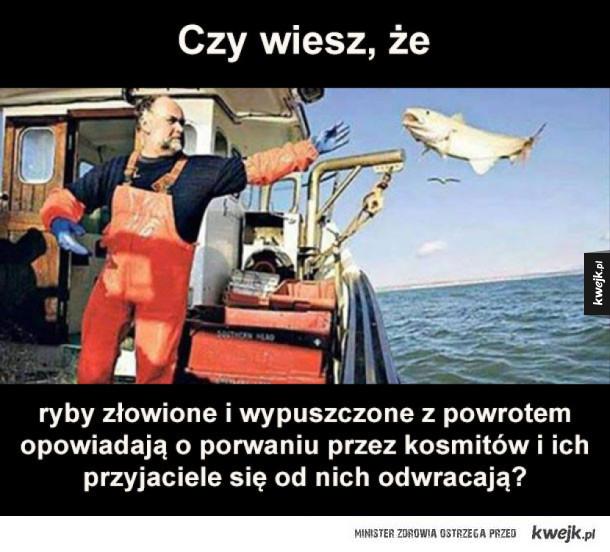 ciekawostka o rybach