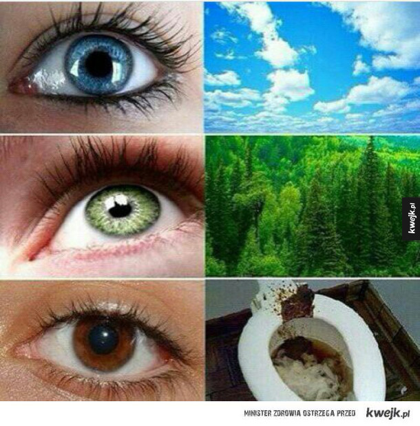 Jaki masz kolor oczu?