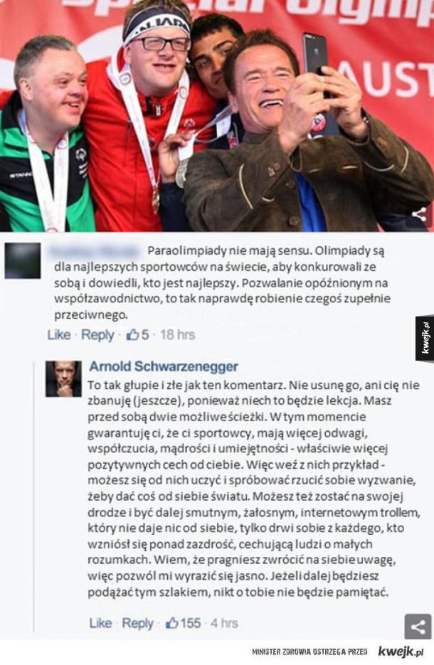 Reakcja Schwarzeneggera