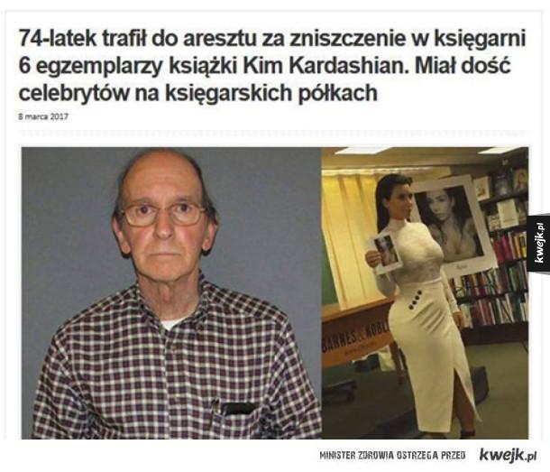 Nie wszyscy bohaterowie noszą peleryny - Mężczyzna aresztowany za zniszczenie książęk o kim kardashian