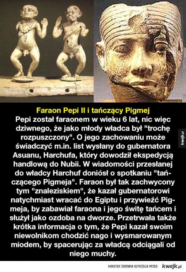 Szalone pomysły władców Egiptu