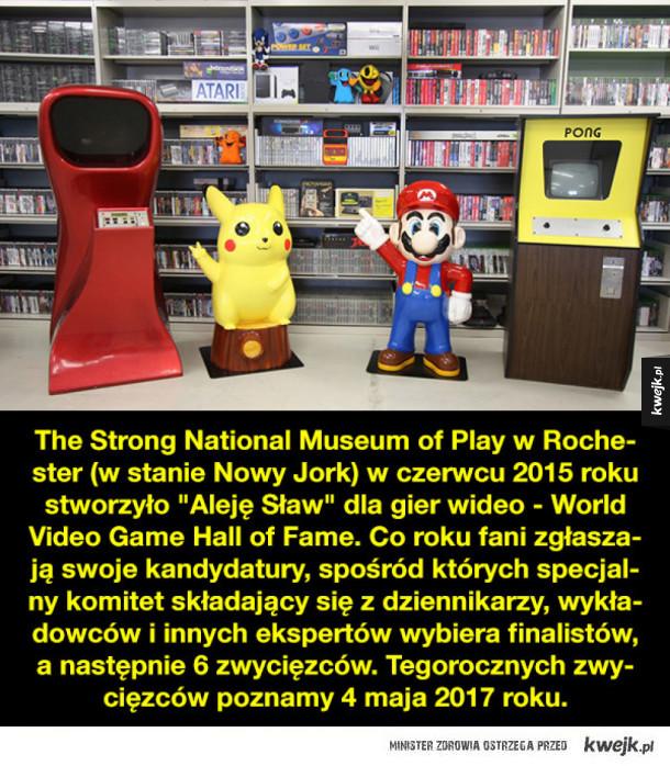 Gry wideo nominowane do Alei Sław