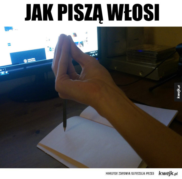 Włoskie metody pisania