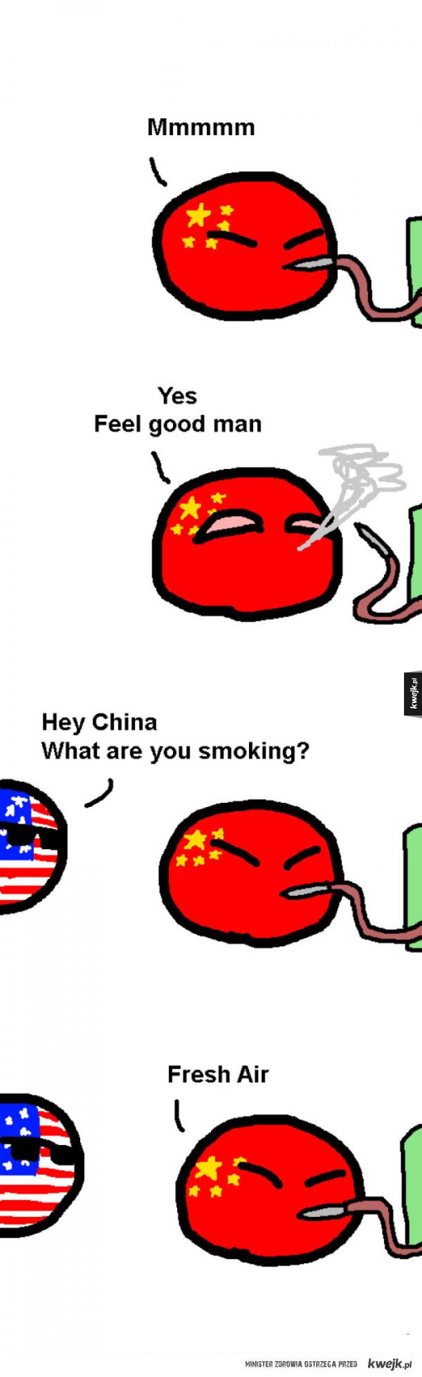 Najbardziej chodliwy towar w Chinach