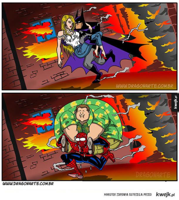 Komiksy o superbohaterach