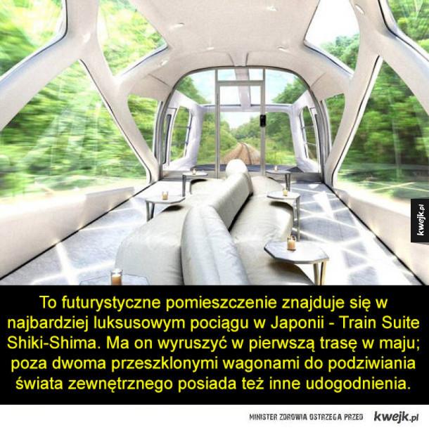 Najbardziej luksusowy pociąg w Japonii