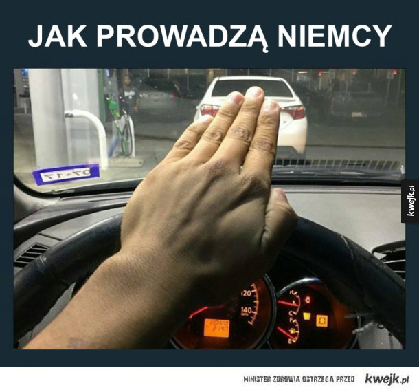 Niemiecki kierowca