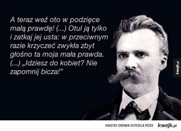 Fryderyk Nietzsche z okazji Dnia Kobiet