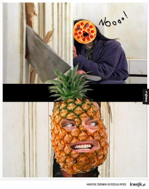 Pizza z ananasem to abominacja