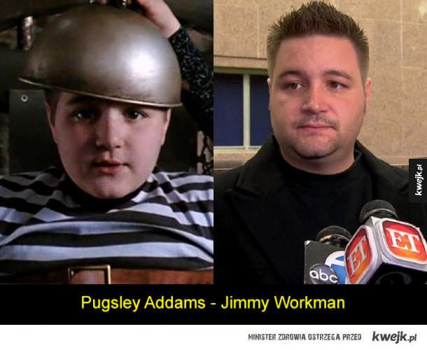 Jak zmienili się aktorzy z Rodziny Addamsów