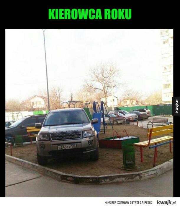 Nieudane parkowanie