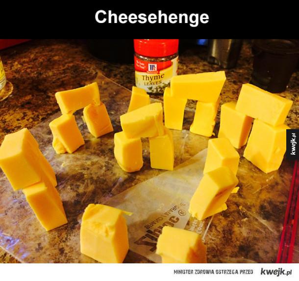Cheesehenge