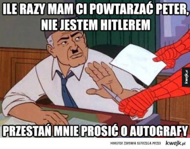 peter uspokój się
