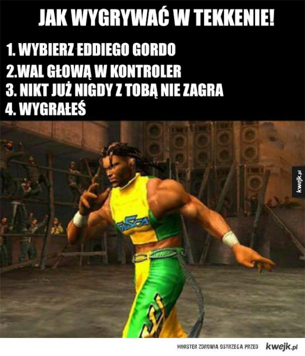 Jak wygrywać w Tekkena