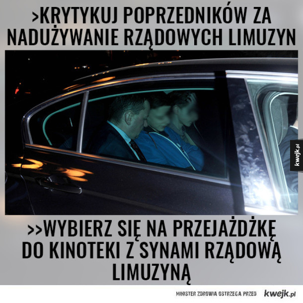 Minister Błaszczak w akcji