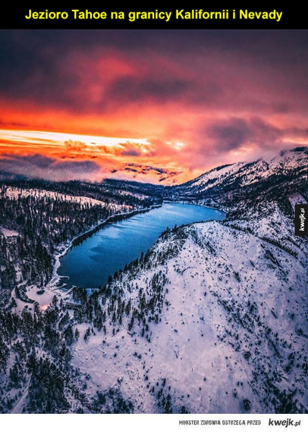 Zachodnie wybrzeże Stanów Zjednoczonych na niezwykłych zdjęciach