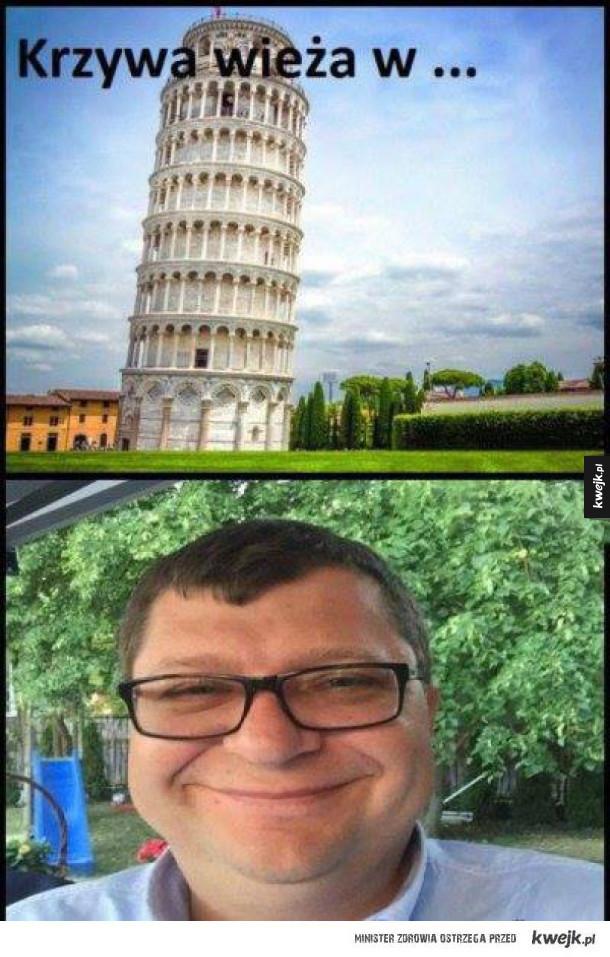 krzywa wieża
