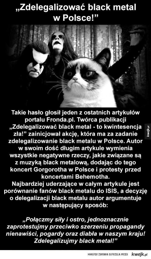 biedny black metal
