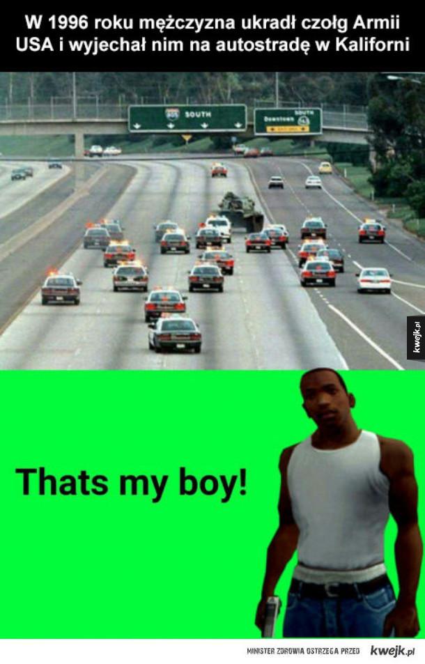 przejażdżka czołgiem