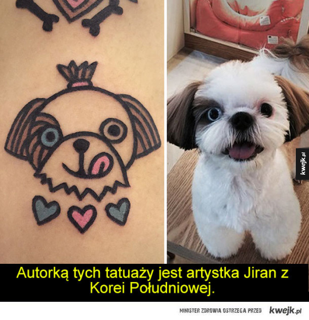 Kreskówkowe tatuaże