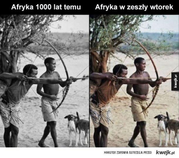 Postęp w Afryce