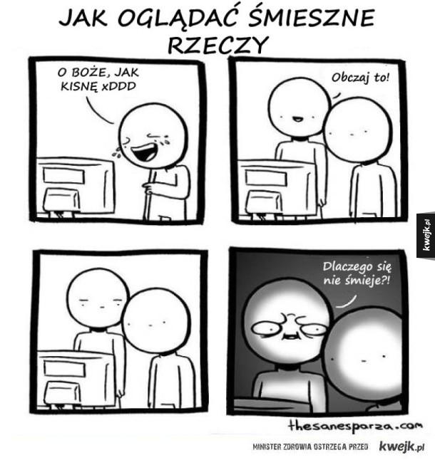 Komiksy o tym, jak robić różne rzeczy