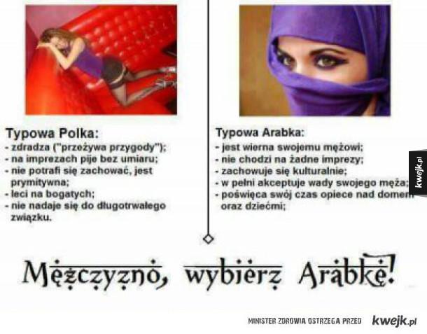 Arabka vs polka
