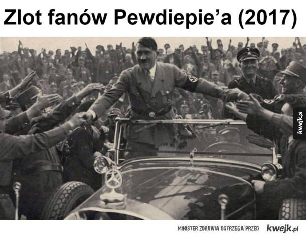 Zlot fanów znanego youtubera