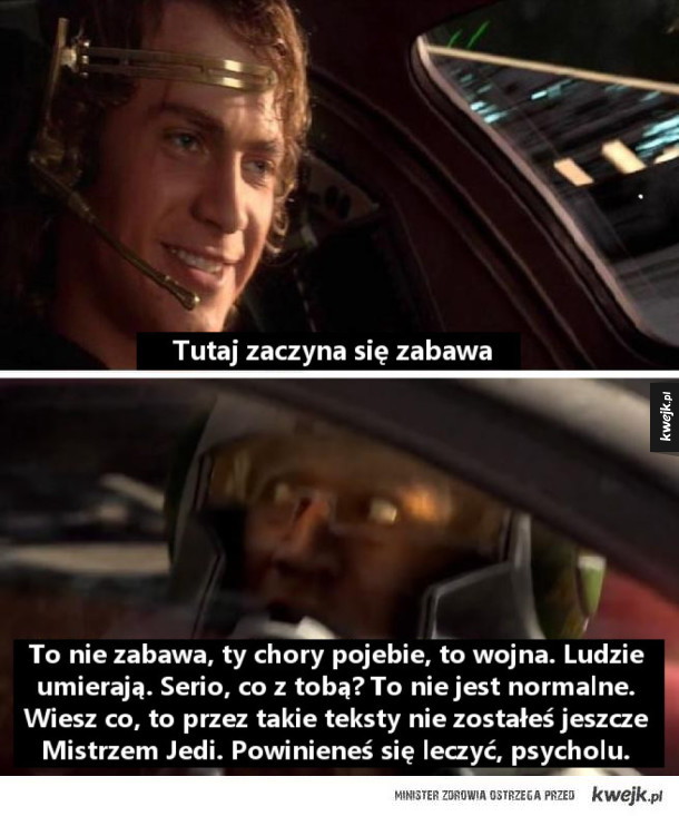 Anakin, co z tobą?