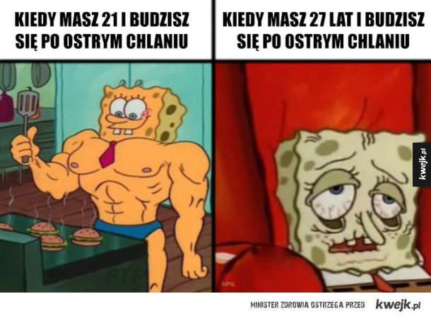 Różnica między 21 a 27