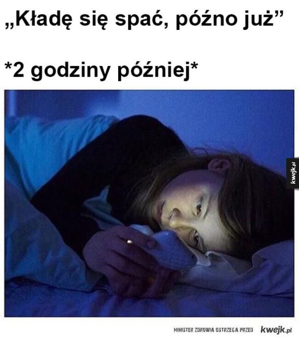 I tak co noc