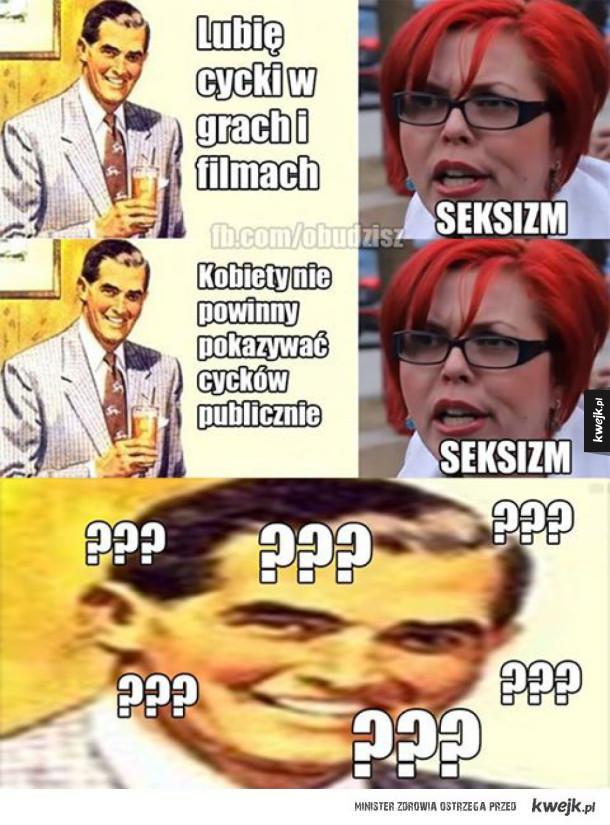 Logika amerykańskich feministek