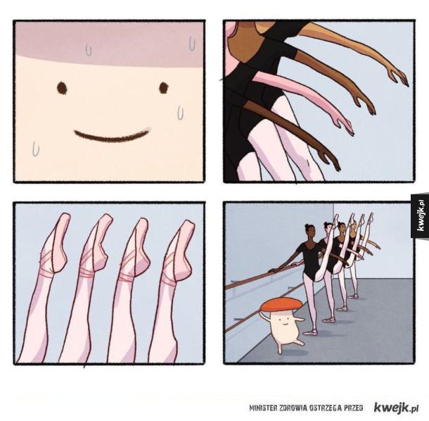 Ja na lekcjach baletu