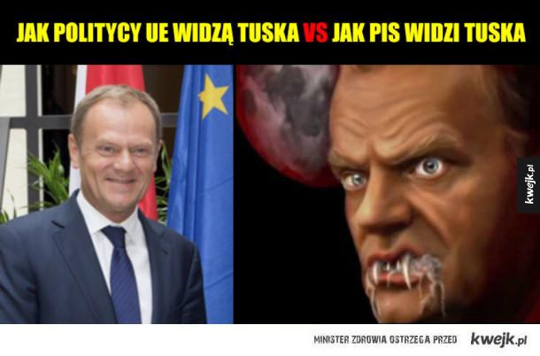 Śmieszki z okazji reelekcji Tuska
