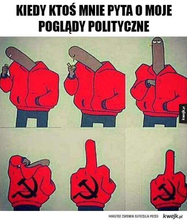 Moje poglądy polityczne