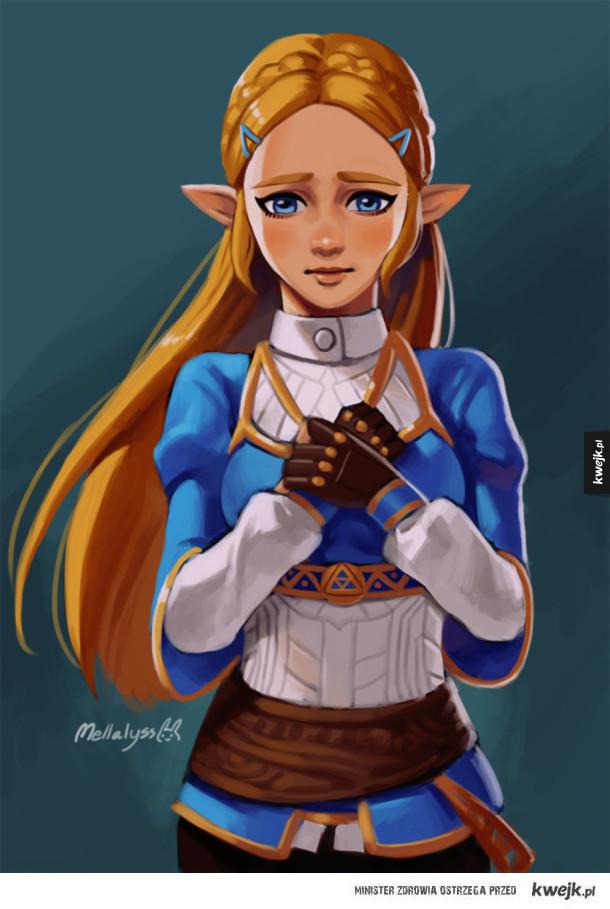 Mix fan artów z The Legend of Zelda: Breath of the Wild