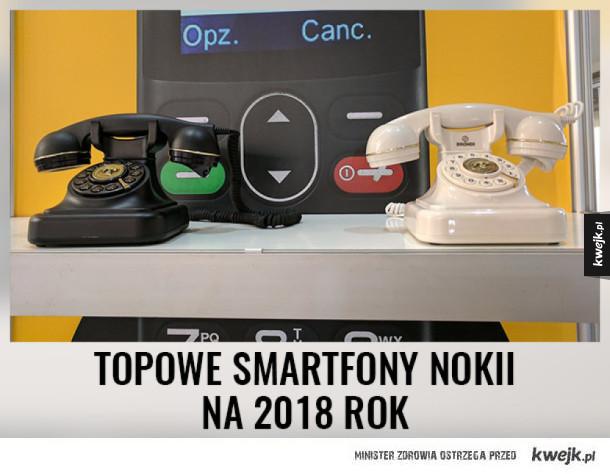 Ciekawe, kiedy Nokia zaprezentuje budkę telefoniczną? :D