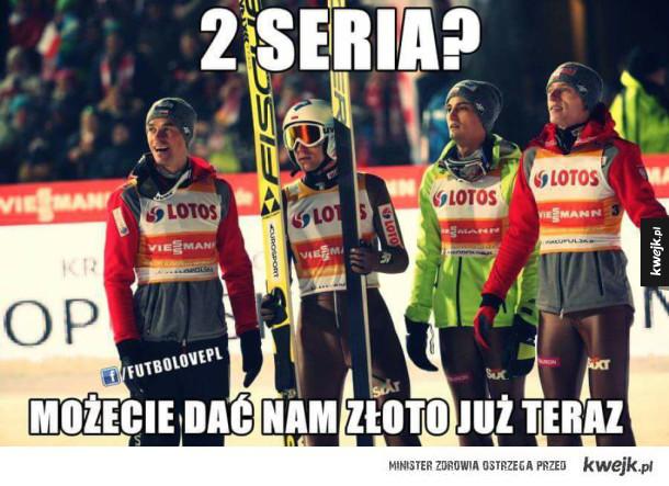 Mamy ZŁOTO, pora na najlepsze memy z konkursu w Lahti, które są czystym złotem :v