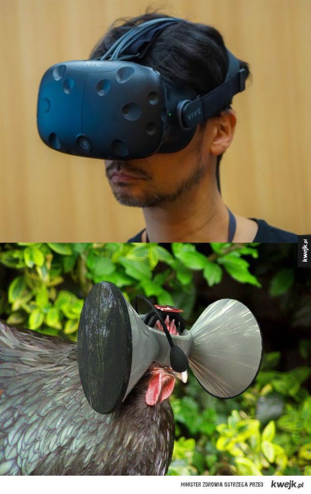 A gdyby dać kurze VR