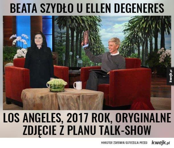 Beata też była u Ellen :)