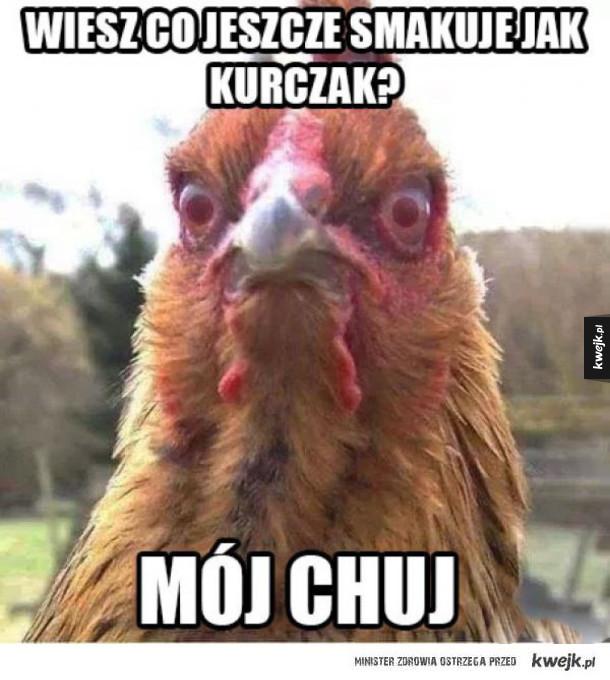 smakuje jak kurczak