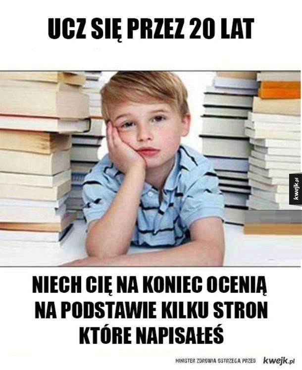 Edukacja w naszych czasach